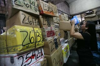Customs suspends guidelines on duty and tax-free balikbayan boxes