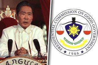 Duterte gov't plans to abolish PCGG