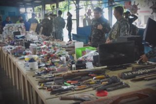 Weapons, gadgets seized anew from Bilibid inmates