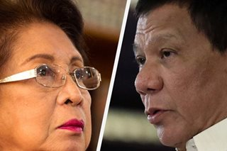 Duterte: Impeach rap vs Ombudsman looming