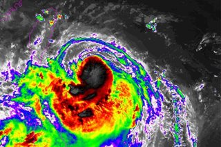 'Gorio' now a typhoon, signal no.2 up in Batanes