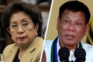 Morales says Duterte can't meddle in Ombudsman affairs