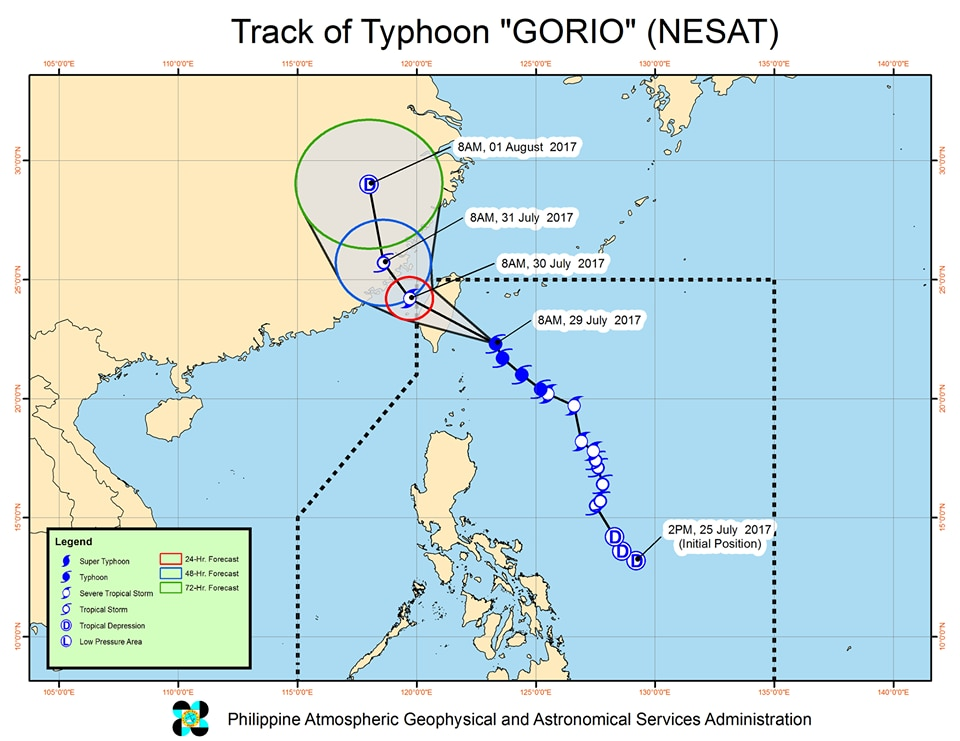 Signal No. 1 up in parts of Luzon due to 'Huaning'