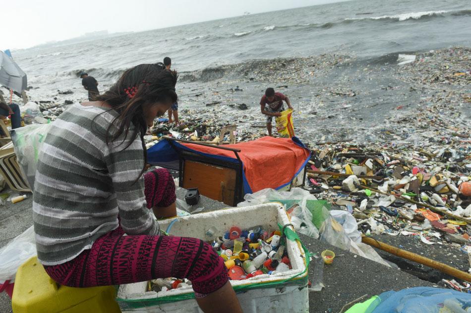 'Gorio' leaves behind truckloads of waste