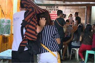 Mga menor de edad na tumatagay sa Gen San, dinakip ng mga pulis