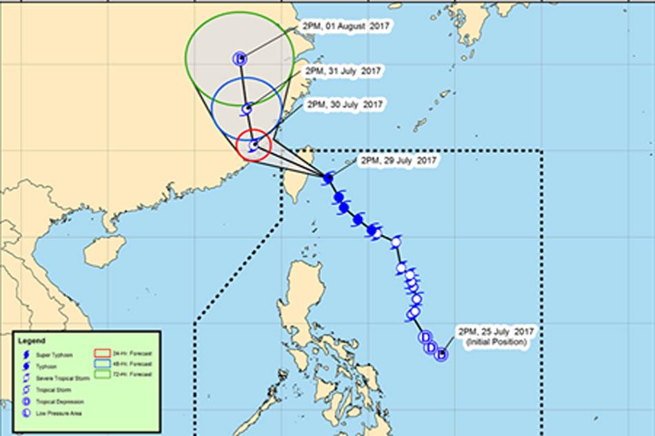 'Gorio' to exit PAR Sunday, new tropical storm may enter: PAGASA 1