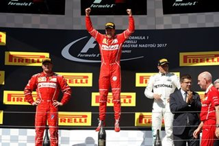 F1: Vettel wins while sporting Hamilton keeps his word