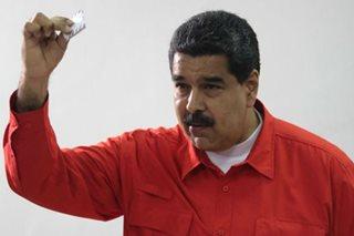 US targets Venezuelan President Maduro for sanctions