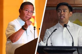 Ex-VP Binay, son face graft, falsification charges