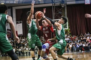 NCAA: Nambatac's 31-point outburst pushes Letran to second straight win
