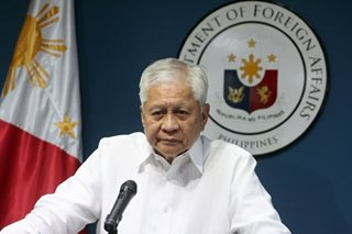 ASEAN must stand up to China's island-building, Del Rosario says