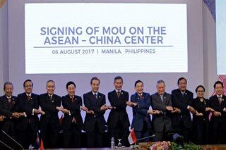 ASEAN urges non-militarization in South China Sea