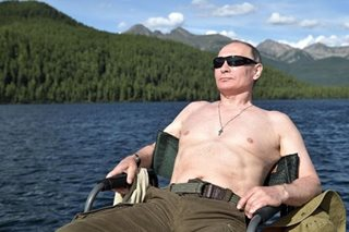 Putin cultivates strongman persona with holiday adventures