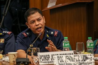 Controversial cop Espenido assigned to Catanduanes