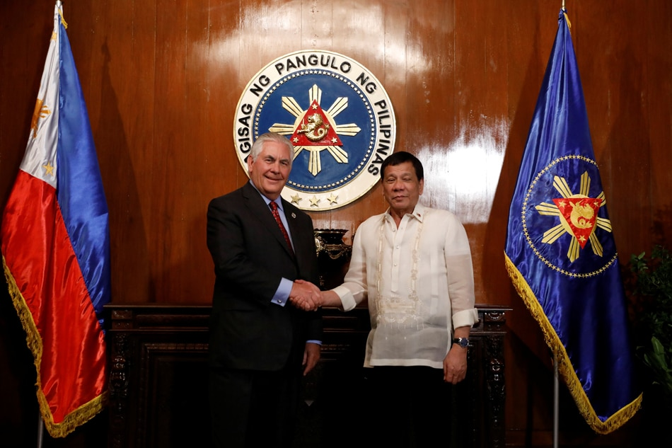 Brutish Philippine President Duterte Says He's Tillerson's 'Humble Friend'