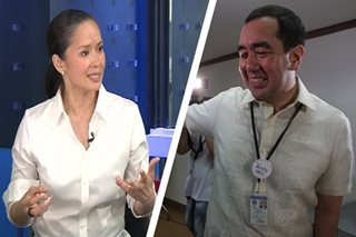 Wife denies affair with ex-model, warns Comelec's Bautista