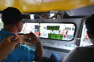 LTFRB still undecided on jeepney base fare hike petition