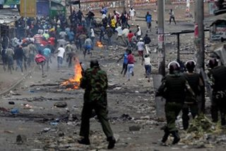 At least 11 dead as post-election unrest erupts in Kenya