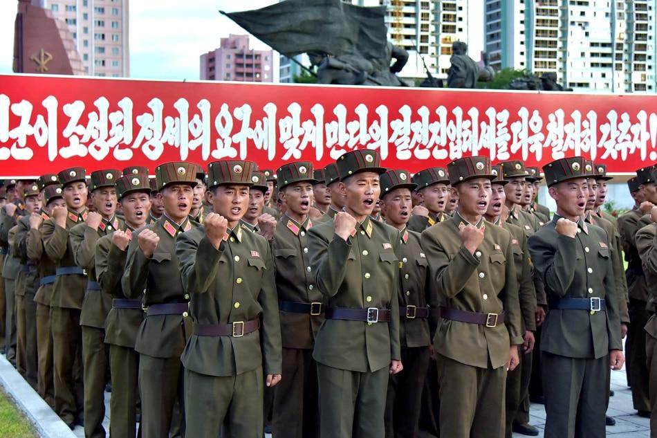 Manila urges restraint as US, North Korea trade nuke threats 1