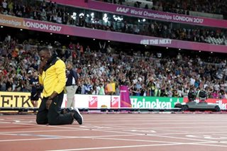 Usain Bolt gives emotional London farewell