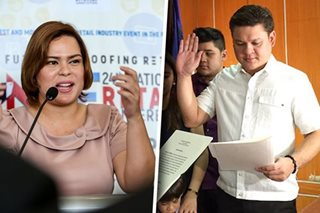Sara Duterte stands by brother amid alleged involvement in Customs mess