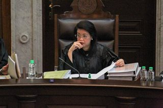 Sereno camp asserts right to cross-examine witnesses in impeachment complaint