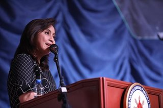 Robredo as DSWD chief? Palace reacts