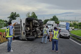 SCTEX accident