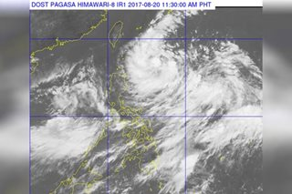 Tropical depression Isang enters PAR, to enhance habagat