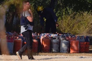 Behind olive trees, Spain terror cell's bomb factory
