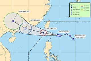 Ulan sa Luzon, Visayas, tuloy dahil sa bagyong 'Isang'
