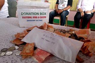 Mga bilanggo, nag-ayuno para makatulong sa Marawi evacuees