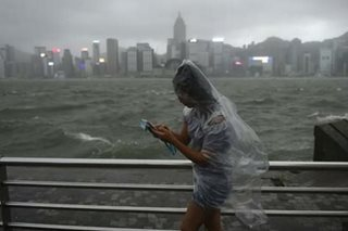 Typhoon leaves 12 dead after lashing Macau, Hong Kong