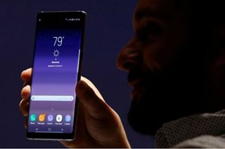 Samsung unveils new Galaxy Note 8