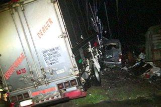 Lalaki, patay nang salpukin ng truck sa Baguio