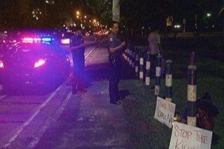 QCPD, ipinagtanggol ang mga pulis na sumulpot sa protesta sa Ateneo