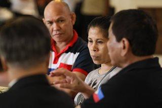 Duterte, may pangako sa mga magulang ni Kian