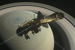 US spacecraft readies for fiery plunge into Saturn after 13-year mission