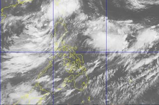 Rainy long weekend seen with storm brewing off Ilocos