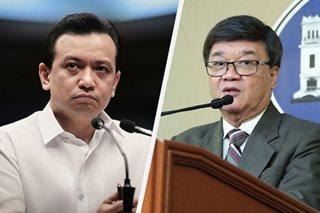 Aguirre tells Trillanes: No evidence, no probe vs Duterte son, son-in-law