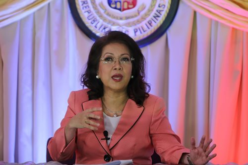 Impeachment should not be for 'personal vengeance': Sereno