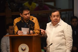 Trillanes slams Gordon for stripping Taguba of Senate protection