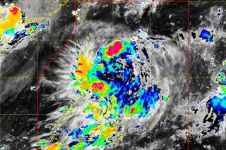 Tropical depression 'Kiko' develops over Baler