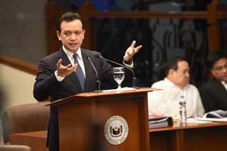 Trillanes threatens to expose Gordon's 'corrupt acts' in Red Cross