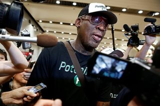 Agent: Rodman entering rehab after DUI arrest