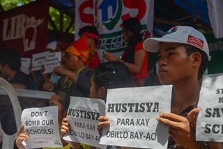 Justice sought for slain Lumad student