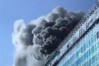 Fire hits Pasay building