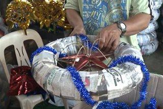 Mga bilanggo sa Dumaguete, abala sa paggawa ng mga parol