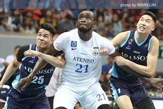 Ikeh's big game of no surprise to Ateneo coaches, teammates