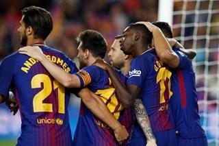 Messi hat-trick ensures Barca pounce on Madrid stumble
